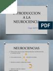 Introduccion a La Neurociencia. Diego Martinez 1