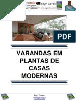 Varandas Em Plantas de Casas Modernas