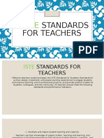 mia washington 5 iste standards for teachers