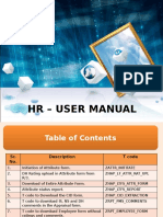 Hr Manual for Ltfs