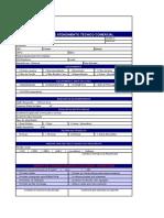 Formulario - Levantamento de Aplicações Industriais