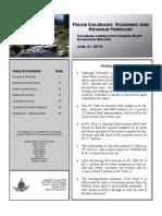 Economic and Revenue Forecast June 2010