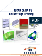 Gurucad Catia v5 Cat Settings Training De