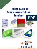 GURUCAD CATIA V5 Schweisskonstruktion Trainings-De