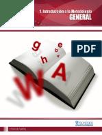 1 Introduccion a La Metodologia General