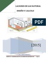 Calculo de Instalaciones de Gas Natural Residencial