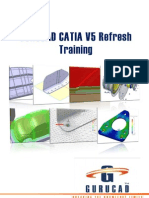 Gurucad Catia v5 Refresh Training De