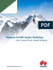 Huawei Sx700 Series Switches - Fast Future-Proof Award-Winning