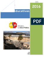 Plan de Charlas Educativas