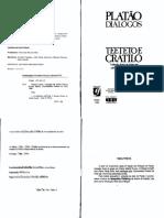 Platão - Teeteto & Cratilo (1)
