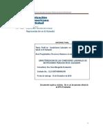 Condiciones Laborales Informe Final
