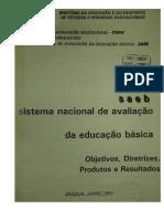 Relatório SAEBDF 1992