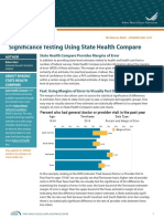 Significance Testing UsingState Health Compare