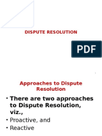 Dispute Resolution PPT