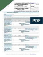 Formato de Propuesta Del Proyecto
