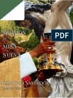 Sermón Primera Misa por Federico Salvador Ramón