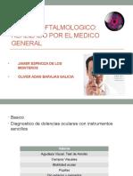 Examen Oftalmologico Medico General