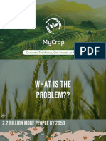 MyCrop - Changing the World One Farmer at a Time.