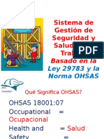 Sistema de Gestión de SST basado en la ley 29783 y OHSAS 18001.pptx