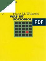 Wuketits, Franz M. - Was Ist Soziobiologie