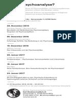 Karl Abraham Institut Flyer Psychoanalyse2016 2