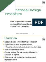 FALLSEM2015 16 CP3046 08 Sep 2015 RM01 Combinational Design Procedure