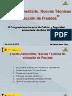 TÉCNICAS PARA EVITAR EL FRAUDE ALIMENTARIO