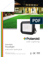 Polaroid-Leaflet - Floodlight Deu