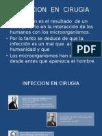 Infeccion Del Sitio Quirúrgico. Dr Saldaña