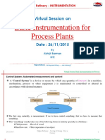 Basic Field Instruments for Process Units