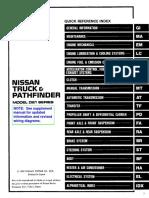 [NISSAN] Manual Nissan Patfinder Motores VG30 E y KA24E