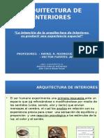 Arquitectura de INTERIORES - Animada