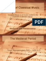 Periods of Classical Music 1