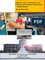 Eeyou-Eenou Trade and Commerce Agreement Report - Initial Report December 2016
