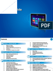 Win8 Manual for Samsung XE700T1C
