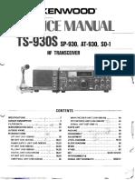 Ts930s Service Manual