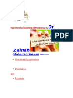 Pregnancy Induced Hypertension by Dr Zainab Mohamed Yaseen MBBS.,DGO.,