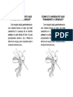 Cartão - Conhecendo o Aedes