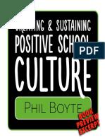 Excerpt of Positive School Culture Phil Boyte