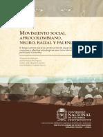 Movimiento Social Afrocolombiano Negro Raizal y Palenquero