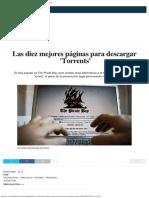 Las Diez Mejores Páginas Para Descargar Torrents. Noticias de Tecnología