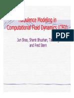 Turbulence Modeling Cfd