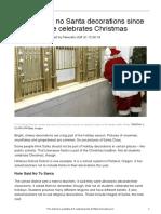 no to santa decorations 610l