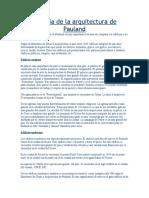 Historia de La Arquitectura de Pauland