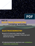 Unit 12 Electrochemistry