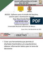 Biosol Software Para El Estudio Del Bioclima, Control Solar
