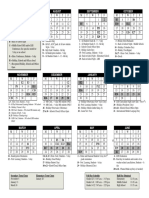 Lexington Calendar