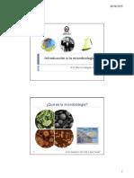 Introducción a La Microbiologia
