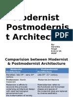 Moderna i postmodera arhitektura