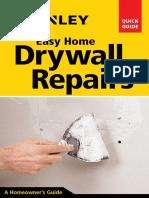 Easy Home Drywall Repairs